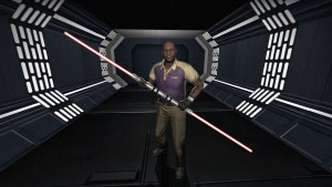 L4D2 lightsaber coach