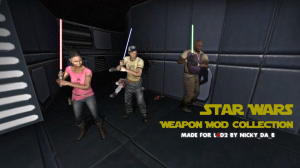 L4D2 lightsaber collection