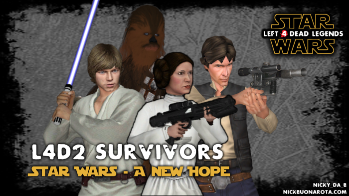 L4D2 Survivors - Star Wars: A New Hope