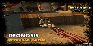 Star Wars Geonosis Petranaki Arena